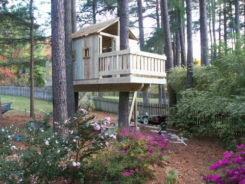 Tree House Plans For Two Trees 164 best swing sets/ forts/ tree houses images on pinterest