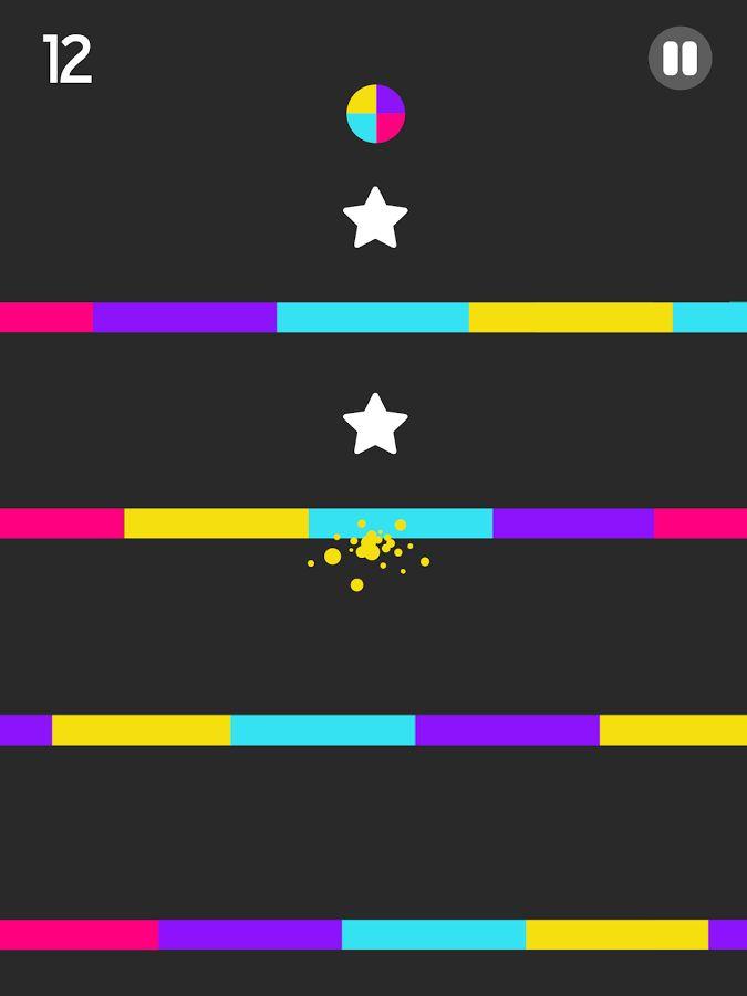 Color Switch: captura de pantalla