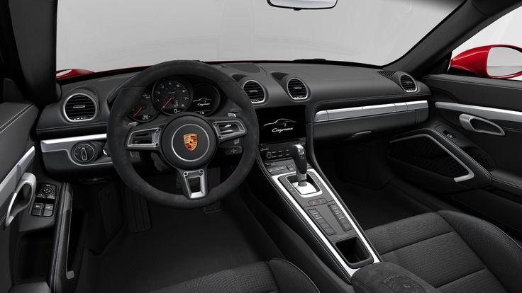 Porsche 718 Cayman Car Configurator $84,680 (4 of 4)