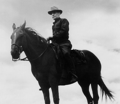 Elers Koch was a U.S. Forest Service forest ranger. He often patrolled the Lolo National Forest in New Mexico while armed with a weapon. (U.S. Forest Service photo)