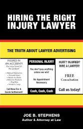 Katy car accident attorney with 30 years of experience handling injury cases. He is board certified at both the national and state level in handling  injury cases, has tried over 150 injury and wrongful death trials, and settled hundreds of others.  440 Cobia Dr., Suite 601, Katy, TX 77494 Joe@JoeStephensLaw.com 281-392-7447