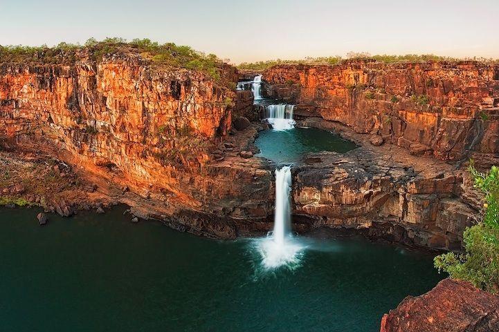 Incredibly Beautiful 4-Tiered Waterfall in Australia