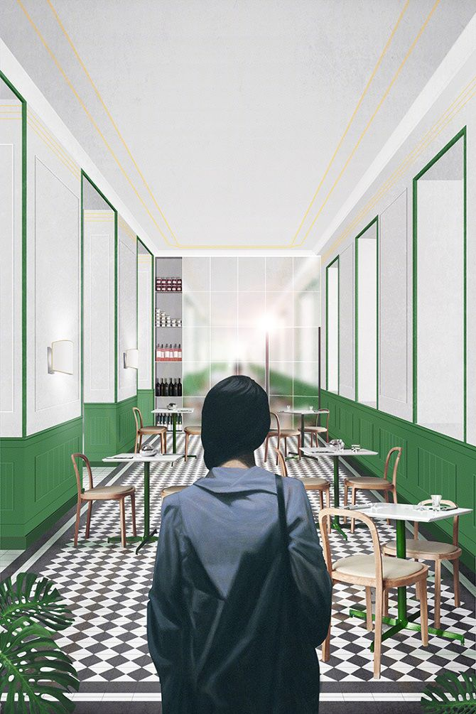 Fosbury Architecture_GRAND HOTEL_The Breakfast Room_Feasibility Study