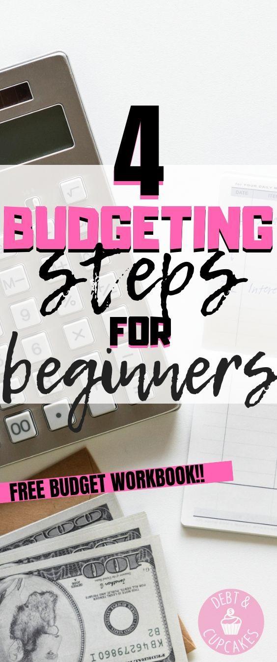 Budgetierung für Anfänger muss nicht überwältigend sein. Befolgen Sie diese 4 einfachen …   – Debt & Cupcakes |  Personal Finance Blog