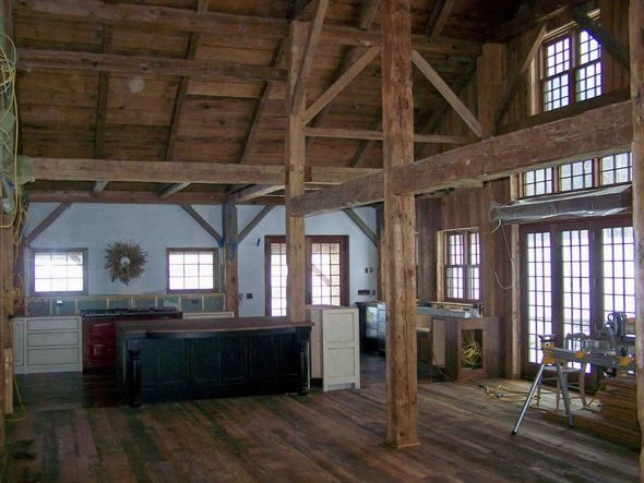 124 best images about barns into homes on pinterest barn for Converting a pole barn into living space