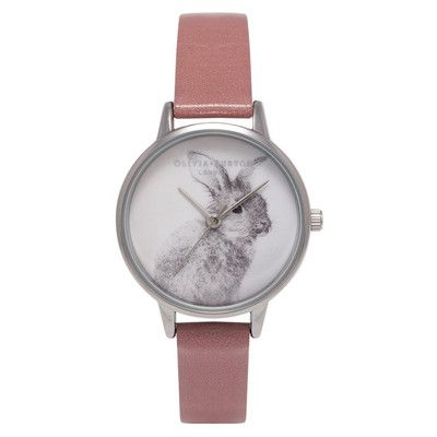 Woodland Bunny Watch – Rose & Silver The Dressing Room - Fashion Styles UK