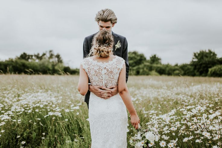 Lace Maggie Sottero Ellis Bridal Gown | Darina Stoda Photography | At Home Tipi Wedding