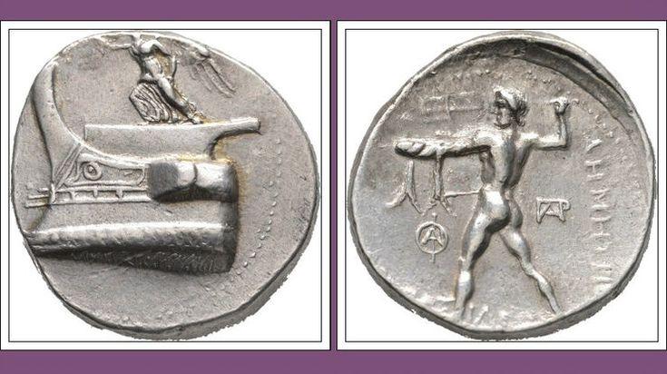 Silver Tetradrachm. Tarsus, ca. 298-295 BC.