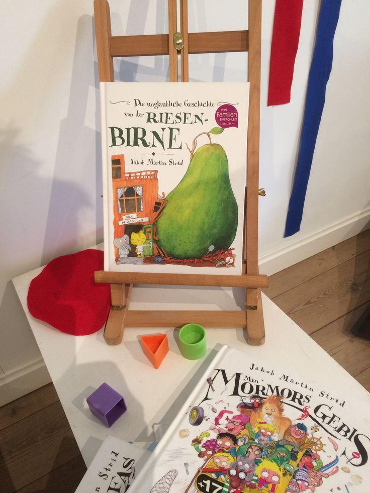 Kinderbuch Ausstellung im Fanø Kunstmuseum. Kennt ihr Jakob Martin Strid?