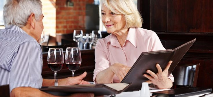 Senior restaurant discounts for those 55 and over!