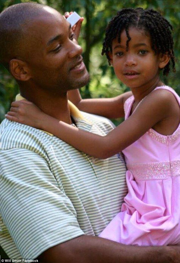 Close bond: Will Smith wrote a sweet message to his daughter, Willow Smith,