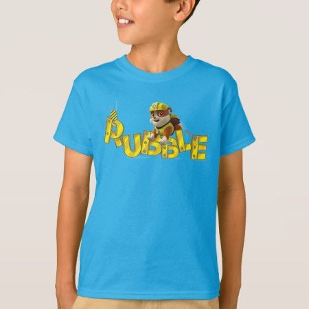 PAW Patrol | Rubble On The Double! T-Shirt - tap to personalize and get yours