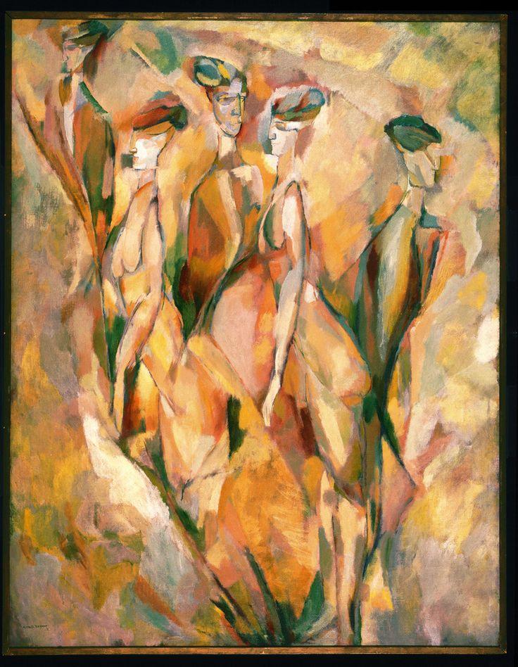 """"""" Marcel Duchamps (French, 1887 - 1968) Dulcinea, 1911 """""""