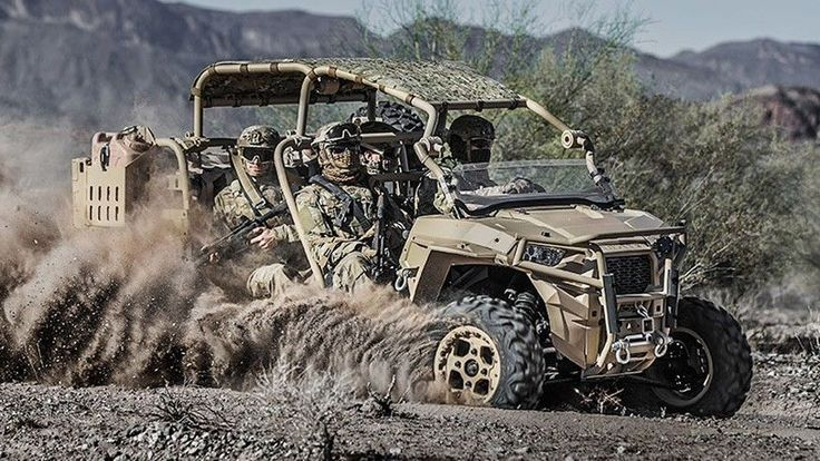 The department of the U.S. Armed Forces has placed an order for 144 Polaris MRZR D4 UTVs, a compact off-roader that was unveiled earlier this year. The 4x4 features a turbocharged three-cylinder engine that can run on either diesel or the military's favored JP8 fuel.