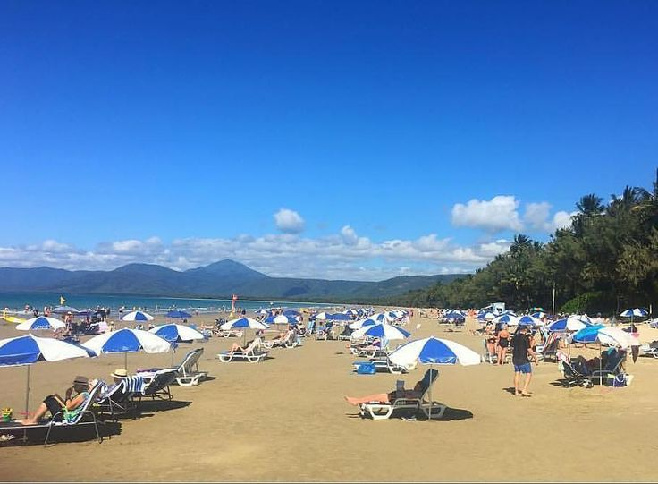 Your real-time weather report on Four Mile Beach is in... Sunny days ahead with a chance of perfection. Wish you were here. by @2fishportdouglas in #portdouglasdaintree