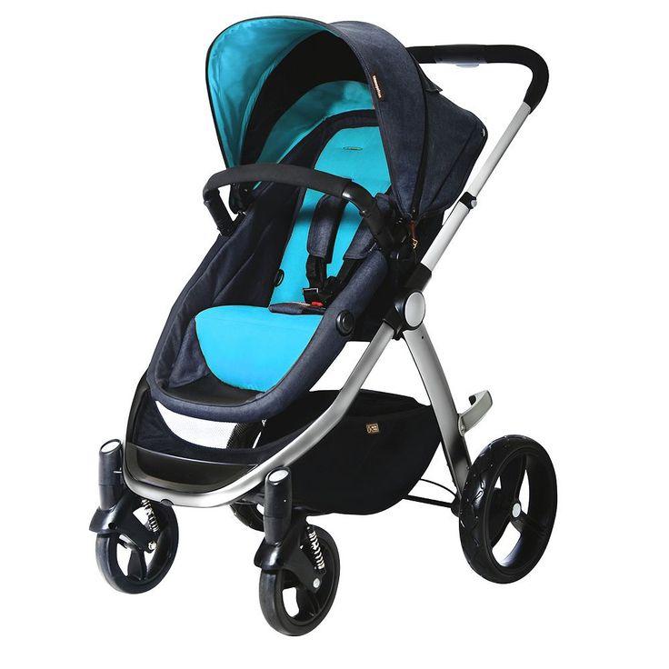 Mountain Buggy Cosmopolitan Stroller, Turquoise/Blue (Turq/Aqua)