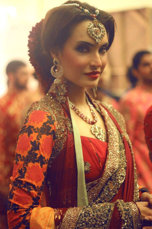 Bridal Elegance - Pakistani super model Nadia Hussain.