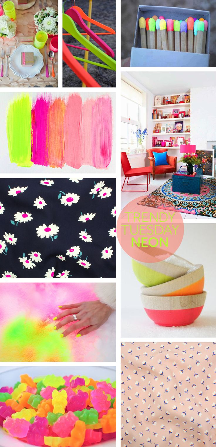 Trendy Tuesday: Lately I have been smitten for the pops of neon seen on several of our spring 2015 fabrics. Neon can be overpowering, but by using just the right amount in an outfit or on a garment you get a great effect, think about adding it to your SS15 collection now! If you are currently concerned with SS14,think washed neon. It updates the popular fluo tones and takes out just enough punch without taking out the neon!