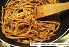Legfinomabb kínai sült tészta 2. - húsmentes