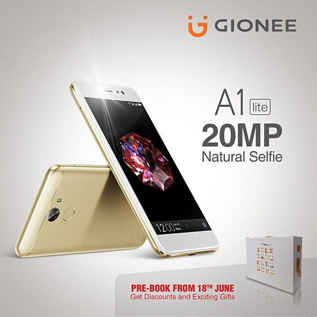 Gionee A1 lite unveiled with 20MP selfie shooter 4000mAh battery