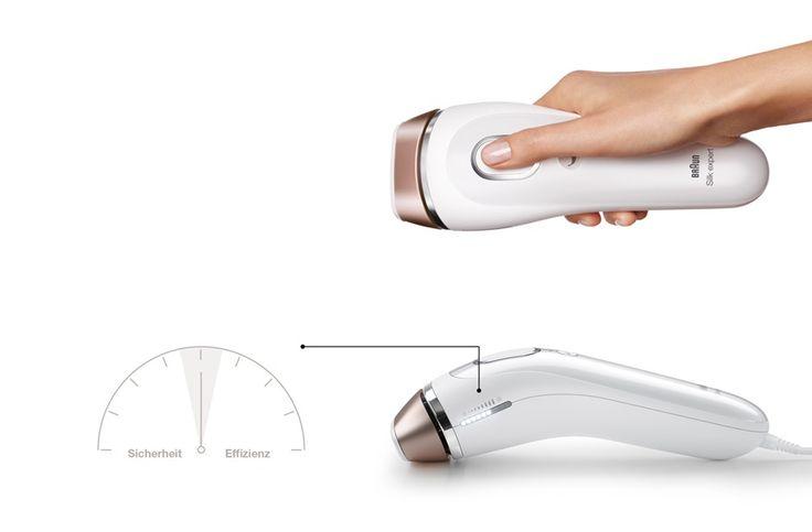 Braun Silk-expert IPL Produkt in der Hand