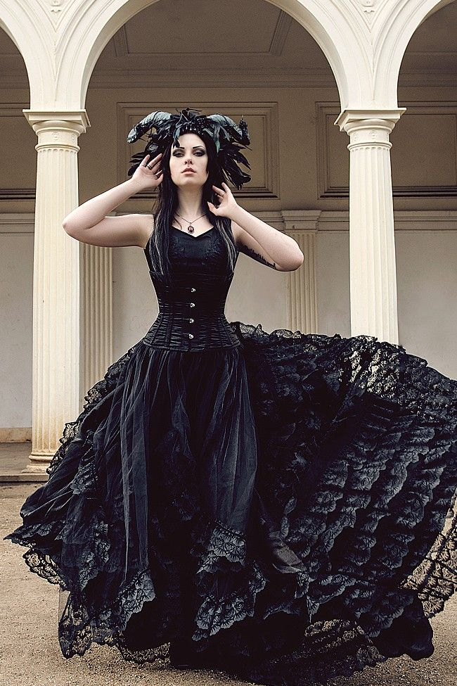 Kleider Damen Röckeamp; Dark Bride Kleid Kleider Sinister QWdxBrCoe