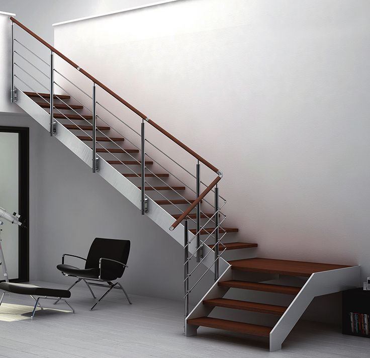 25+ melhores ideias sobre Garde Corps Inox no Pinterest Rampe escalier inox, Escalier suspendu  # Garde Corps Bois Inox