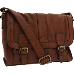 fossil messenger bag $168