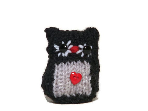 Knitted Owl Amigurumi Owls knitting Gifts for by TheWoollyOwlhouse