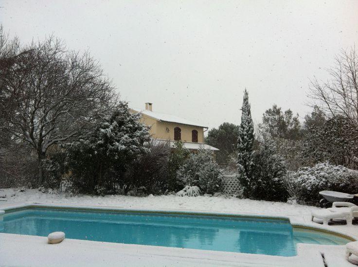 Queen Mum's House / sous la neige