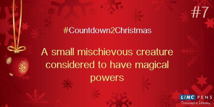 #Countdown2Christmas #Green #Mischievous #magic