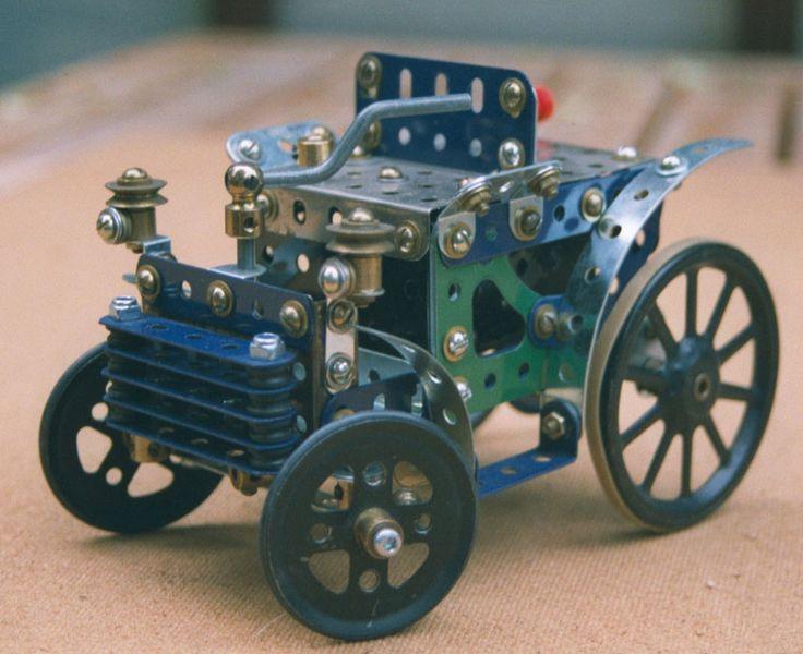 Meccano Vintage Car