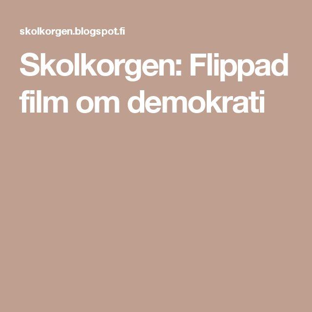 Skolkorgen: Flippad film om demokrati