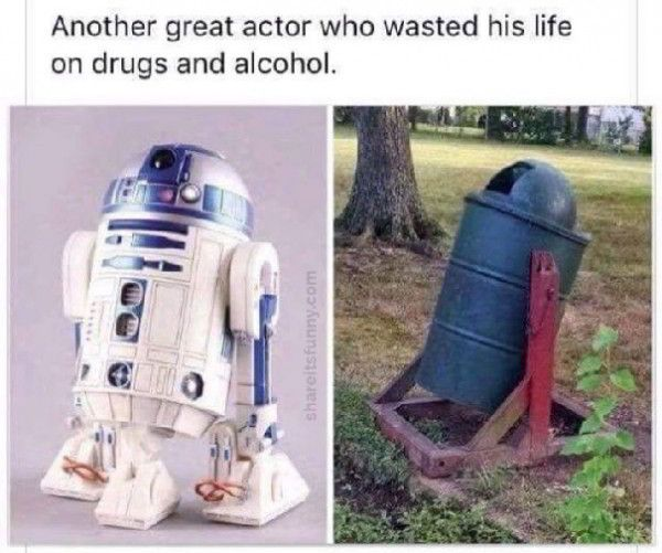 R2-D2 Acting Career - https://shareitsfunny.com/r2-d2-acting-career/ - Funny Pictures on  Share Its Funny  #r2d2actingcareer