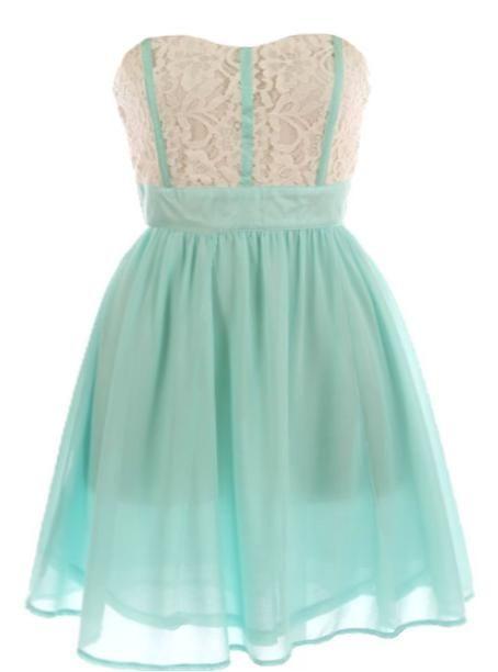 love: Dreams Closet, Style, Bridesmaid Dresses, Clothing, Tiffany Blue, Colors, White Lace, Mint Dresses, Lace Dresses