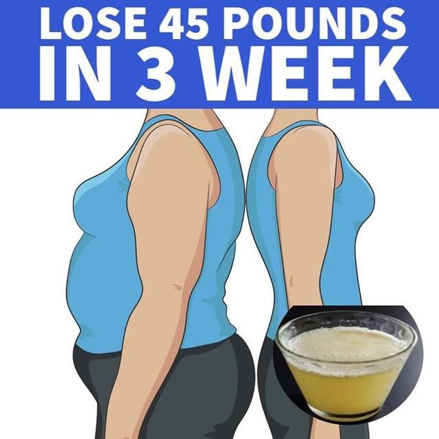 Lose 45 Pounds In 3 Week