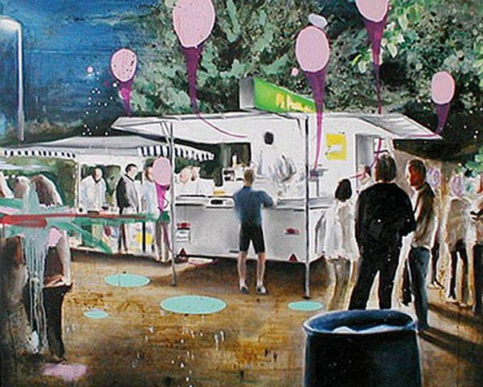 Till Gerhard é um artista alemão que realiza seus trabalhos usando cores leves em suas pinceladas. O background de suas ilustrações sempre remete ao campo e a natureza em si. Apesar de toda sua del…