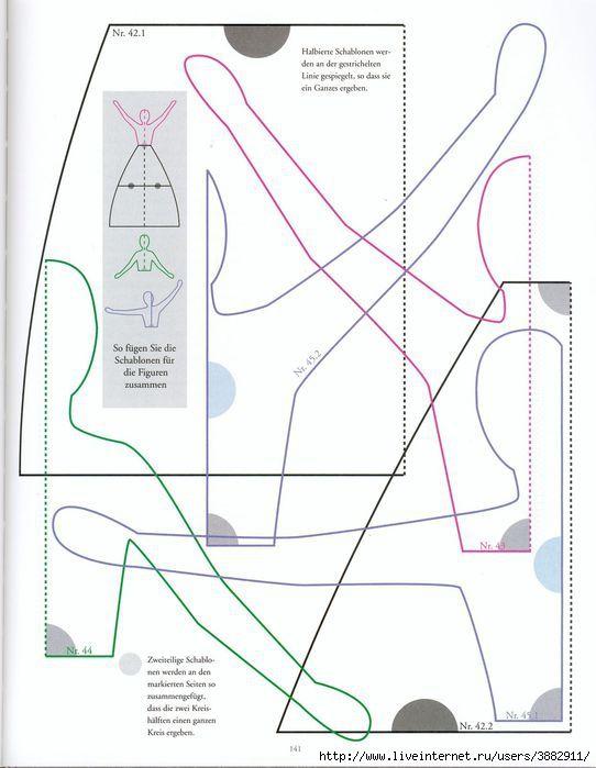 """>Интерьерные текстильные куклы """"три грации"""". Выкройка. Обсуждение на LiveInternet - Российский Сервис Онлайн-Дневников"""
