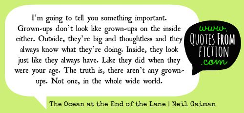 The Ocean At The End Of The Lane (Neil Gaiman)