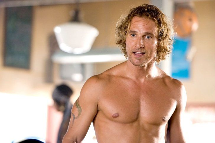 Pin for Later: The Hottest Shirtless Guys in Movies Matthew McConaughey, Fool's Gold