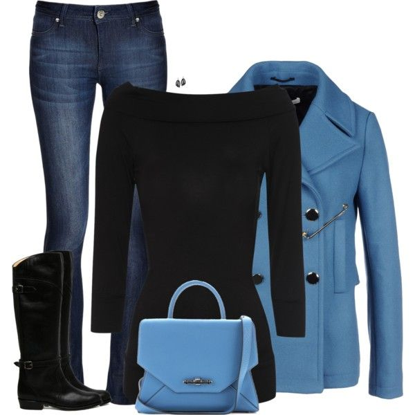 How To Wear skinny jeans & boots Outfit Idea 2017 - Fashion Trends Ready To Wear For Plus Size, Curvy Women Over 20, 30, 40, 50