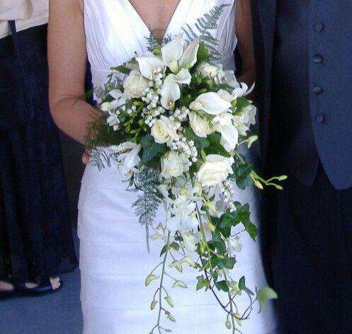 Best 25 Cascading Bridal Bouquets Ideas On Pinterest