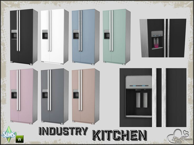 Part of the *Industry Series* Found in TSR Category 'Sims 4 Large Appliances'