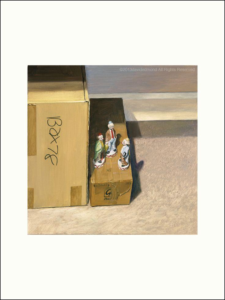 David Edmond 'The Clowns' http://shop.theotherartfair.com/people-figures-prints/davidedmondbtinternetcom/clowns
