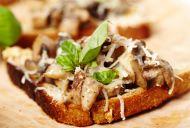 Field Mushrooms on Toast
