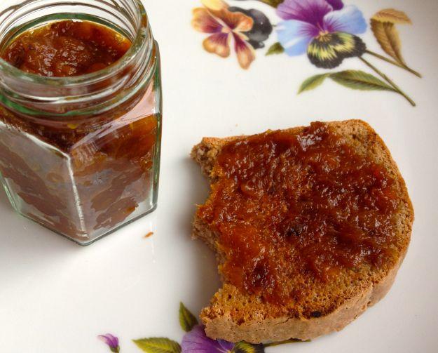 Apricot Jam. sugar free!