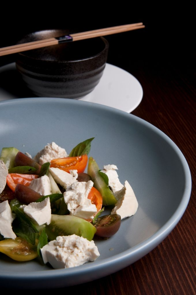 Madame Wu's Tomato Miso Salad