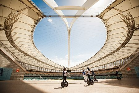 Do something different and memorable in Durban: take a Segway tour of one of South Africa's top sporting destinations.
