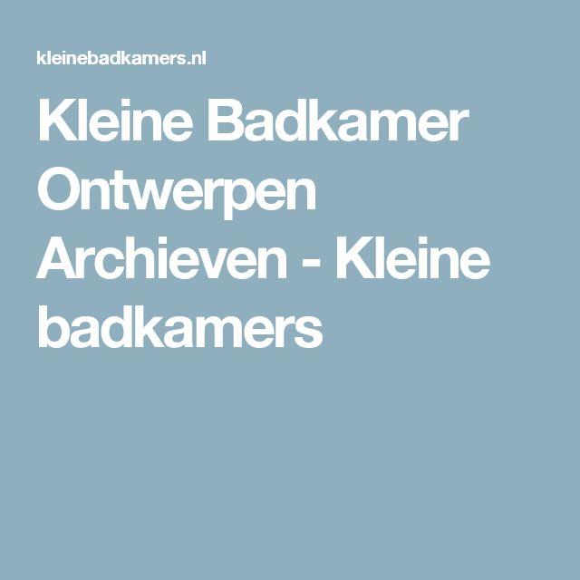 Kleine Open Badkamer ~   Kleine Badkamers op Pinterest  Badkamer, Wastafels en Badkamer
