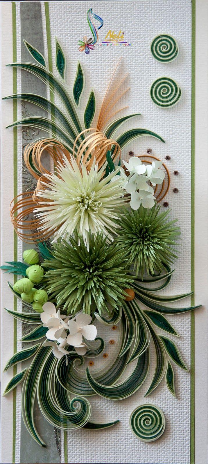 Открытка хризантема своими руками, дворецкого смешные